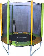 Детский батут KIDIGO™ 183 см в комплекте с защитной сеткой