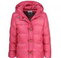 Теплые куртки на синтепоне и флисовой подкладке (еврозима) для девочек Glo-story  164-170р.