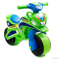 "Мотоцикл-толокар Байк ""Полиция"" 0139 салатовый***"