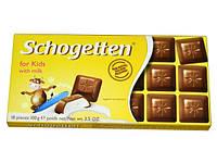 Шоколад Schogetten for Kids