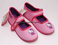 Фирменные тапочки для девочки Hello Kitty, 31, 32 размер