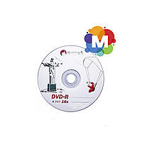 "Диски DATEX DVD-R 4,7Gb 16x Bulk 50 pcs ""Jesus in Rio"""