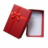 """Коробочка для комплекта украшений """"Красный"""""""
