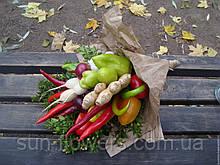 Веган-букет (имбирь,жгучий и сладкий перец,зелень)