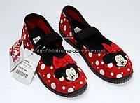 Тапочки для девочки Minnie Mouse, 32р.