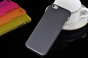 """Матовый чехол Apple iPhone 6 / 6S 4.7"""" Черный"""