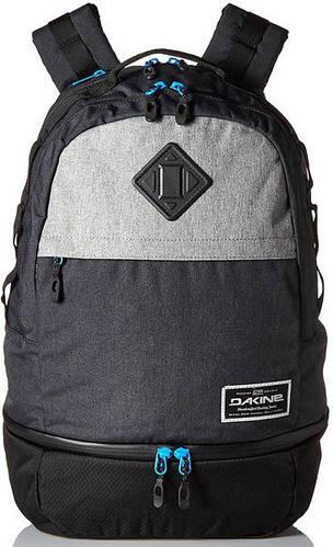 Современный рюкзак для гидрокостюма Dakine 33 л (10000425) INTERVAL WET/DRY 24L'16, 610934039184 черный, серый