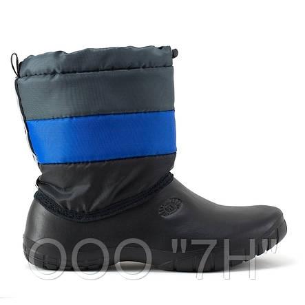 """Комбинированные утепленные подростковые ботинки """"Кросс"""", фото 2"""
