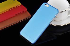 "Матовый чехол Apple iPhone 6 / 6S 4.7"" Синий"