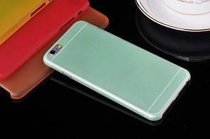 """Матовый чехол Apple iPhone 6 / 6S 4.7"""" Зеленый"""