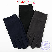 Мужские флисовые перчатки - №16-4-2, фото 1