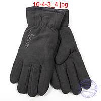 Мужские флисовые двойные перчатки - №16-4-3, фото 1