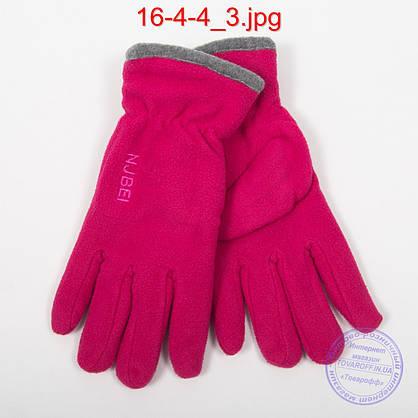 Женские флисовые двойные перчатки - №16-4-4, фото 2