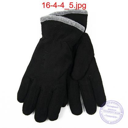 Женские флисовые двойные перчатки - №16-4-4, фото 3