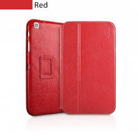 Чехол книжка Book leather case for Samsung P3100, red