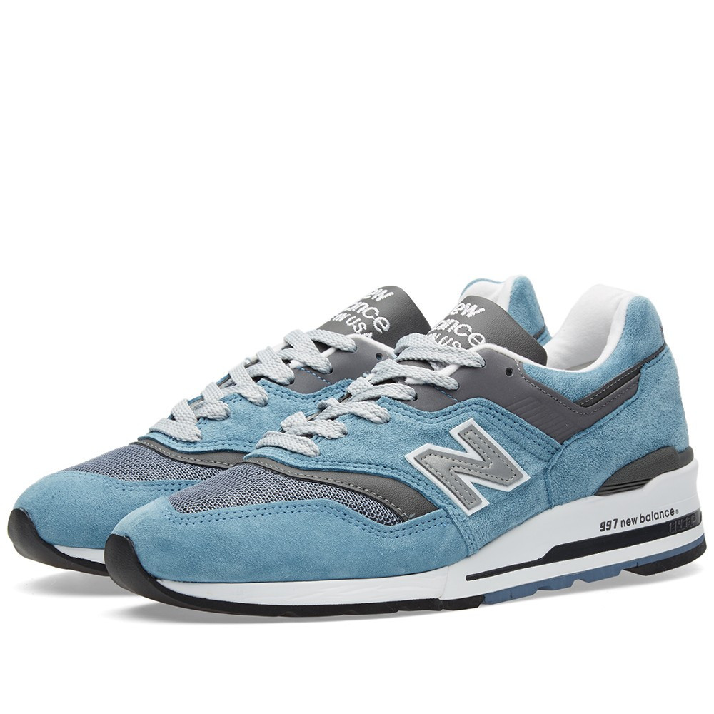 Оригинальные кроссовки New Balance M997CSP - Made in the USA Blue   Grey -  Sport- fafbf9629f8