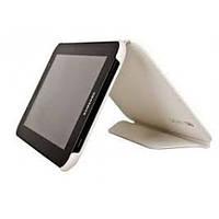 Чехол книжка Book leather case for Samsung P3100, white, фото 1