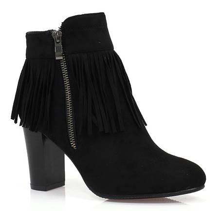 Женские ботинки ALPHARD black