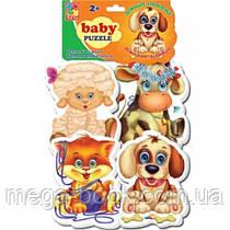 Vladi Toys Мягкие пазлы Домашние любимцы