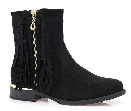 Женские ботинки ALPHEKKA black