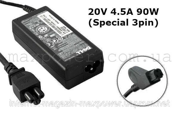 Блок питания для ноутбука Dell 20V 4.5A 90w (Special 3pin) PA-9 ADP-90FB C510 C540 C600 3800 4150 8000