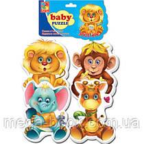 Vladi Toys М'які пазли Зоопарк
