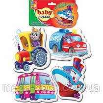 Vladi Toys М'які пазли Транспорт