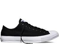 Кеды Converse Chuck Taylor II Low Чёрные, фото 1