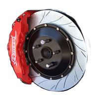 Набор тормозной системы ROTORA RFK.144.03 STREET CHALLENGE, SLOTTED, LAND CRUISER 100, LX 470 , LS 460