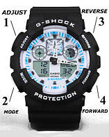 Инструкция по настройке часов Casio G-Shock GA-100