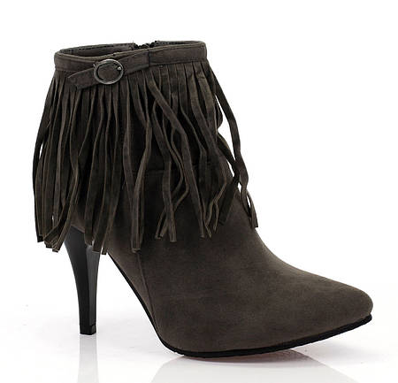 Женские ботинки ALCOR Grey