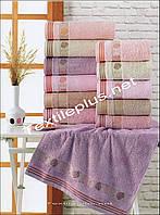 Комплект лицевых бамбуковых полотенец Sikel Турция