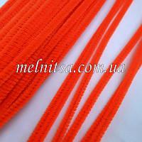 Синельная проволока, 30см, цвет оранжевый