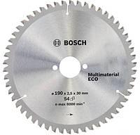 Циркулярный диск Bosch 190x30 54 Multi Material ECO