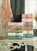 Лицевые полотенца с бахрамой Sikel 50*90 Турция