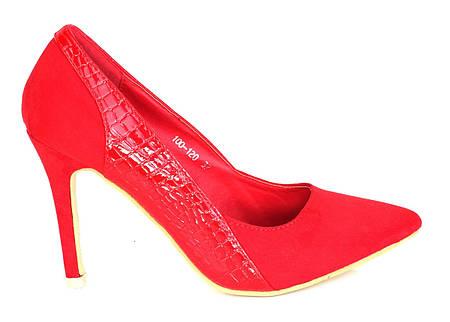 Женские туфли Alchiba red