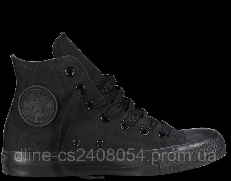 Кеды Converse All Star High Чёрные MONO