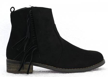 Женские ботинки Herminа black