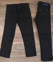 Штаны,джинсы на флисе для мальчика 2-6 лет(черные) (опт) пр.Турция