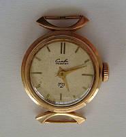 """Часы """"Слава"""", женские, золото 583 пробы"""