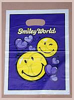 Пакеты полиэтиленовые типа «банан» 40x50cм /уп-100шт