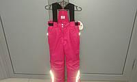Детский зимний полукомбинезон для девочки, фото 1