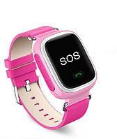 Детские часы с GPS трекером Smart Baby Watch Q60 Pink, фото 1