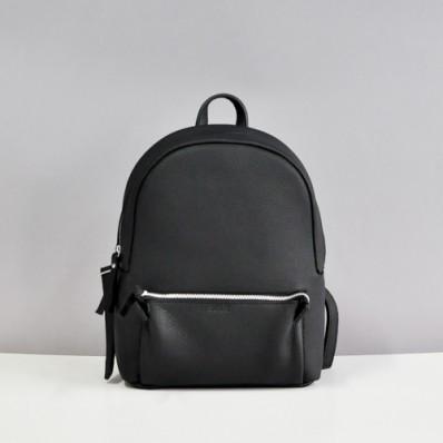 298fcea70ea5 Кожаный рюкзак Jizuz Pilot Black Elephant черный - Интернет магазин