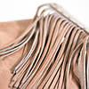 Женский кожаный рюкзак Ethnic Sand бежевый, фото 4