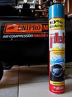 Полироль для пластика салона Plak аэрозоль спрей 750мл