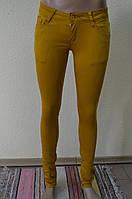 Цветные женские брюки  6670-6