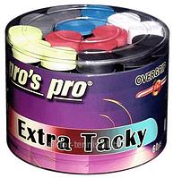 Намотки для тенниса, сквоша, бадминтона Pro's Pro Extra Tacky Tape 60 pack mixed