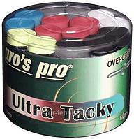 Намотки для тенниса, сквоша, бадминтона Pro's Pro Ultra Tacky Tape 60 pack mixed