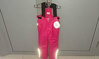 Детский зимний полукомбинезон для девочки 116